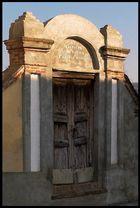 La porta della casa del saggio