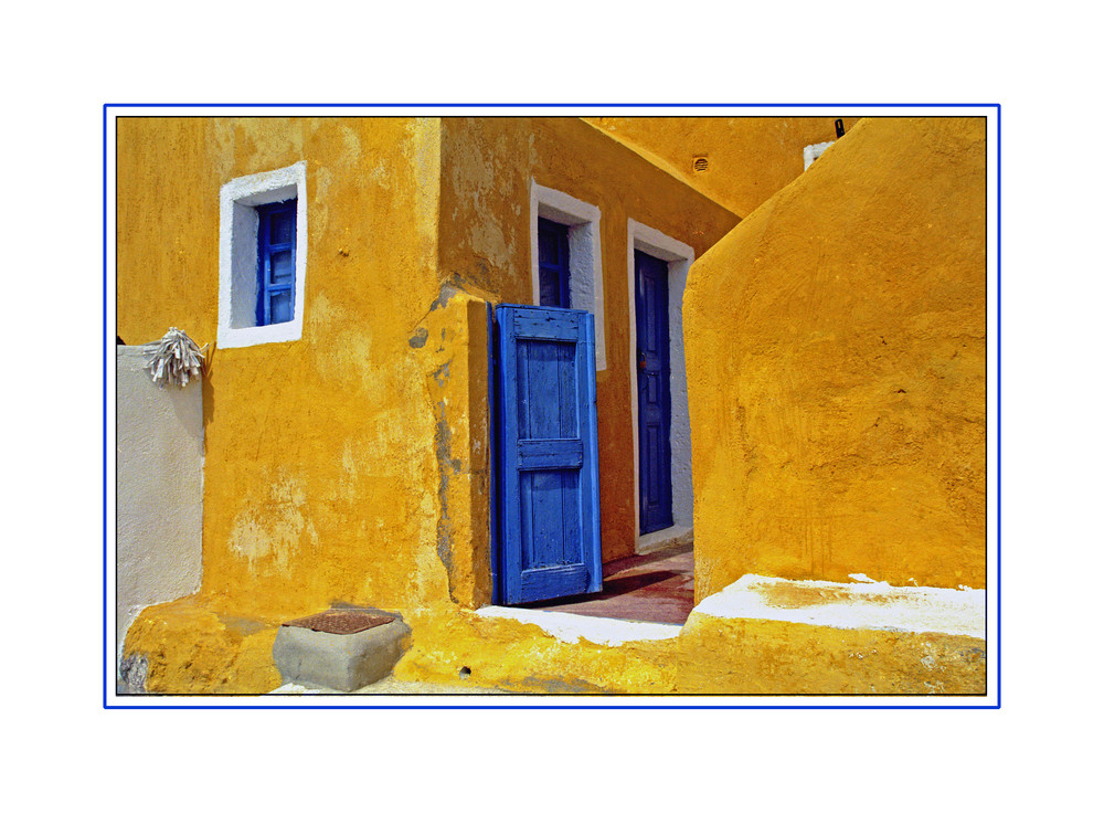 La porte Bleue *