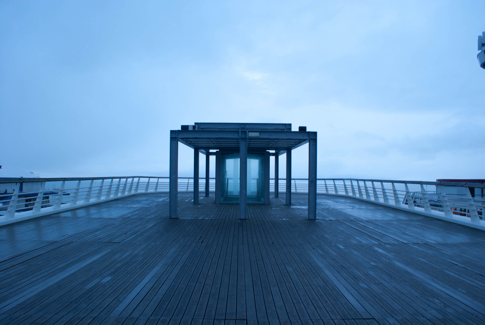 La porte cosmique de Scheveningen