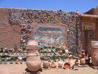 La porte du désert en poteries
