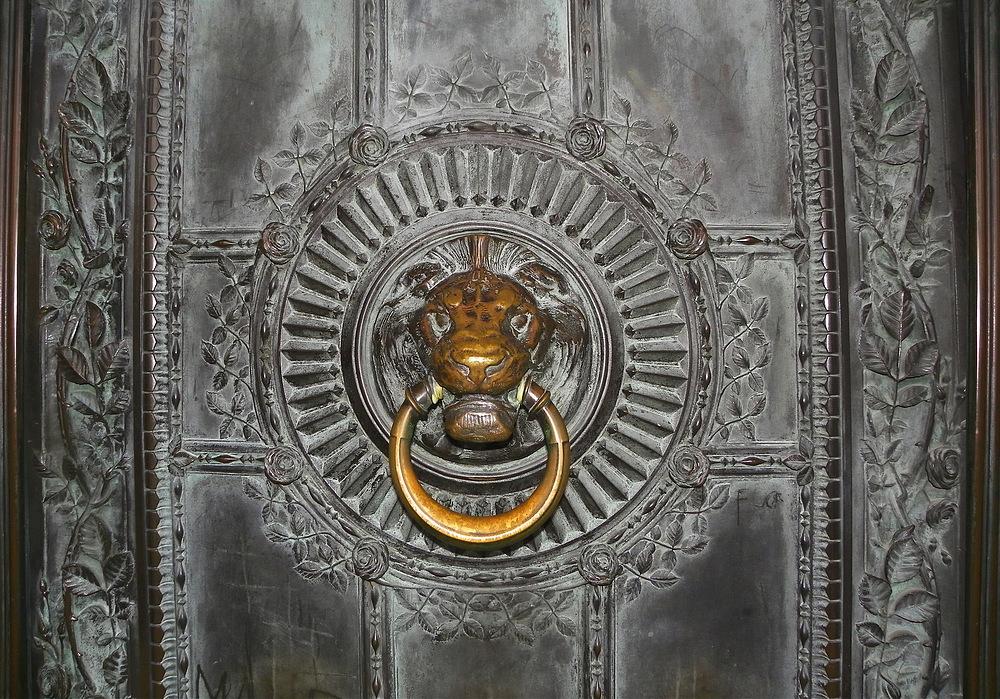 La porte du sacré coeur