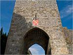 La porte sud  des remparts de Vianne