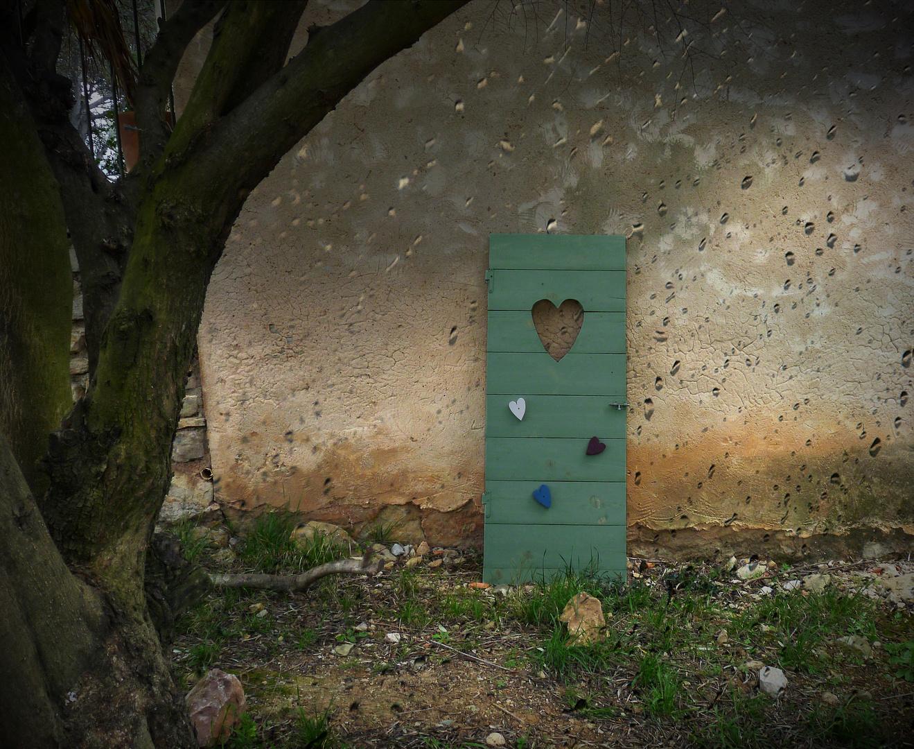 La porte verte...