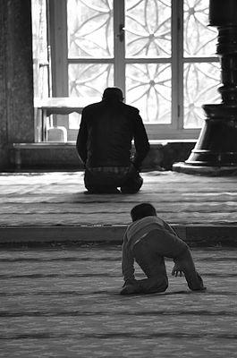 La preghiera. The Prayer.