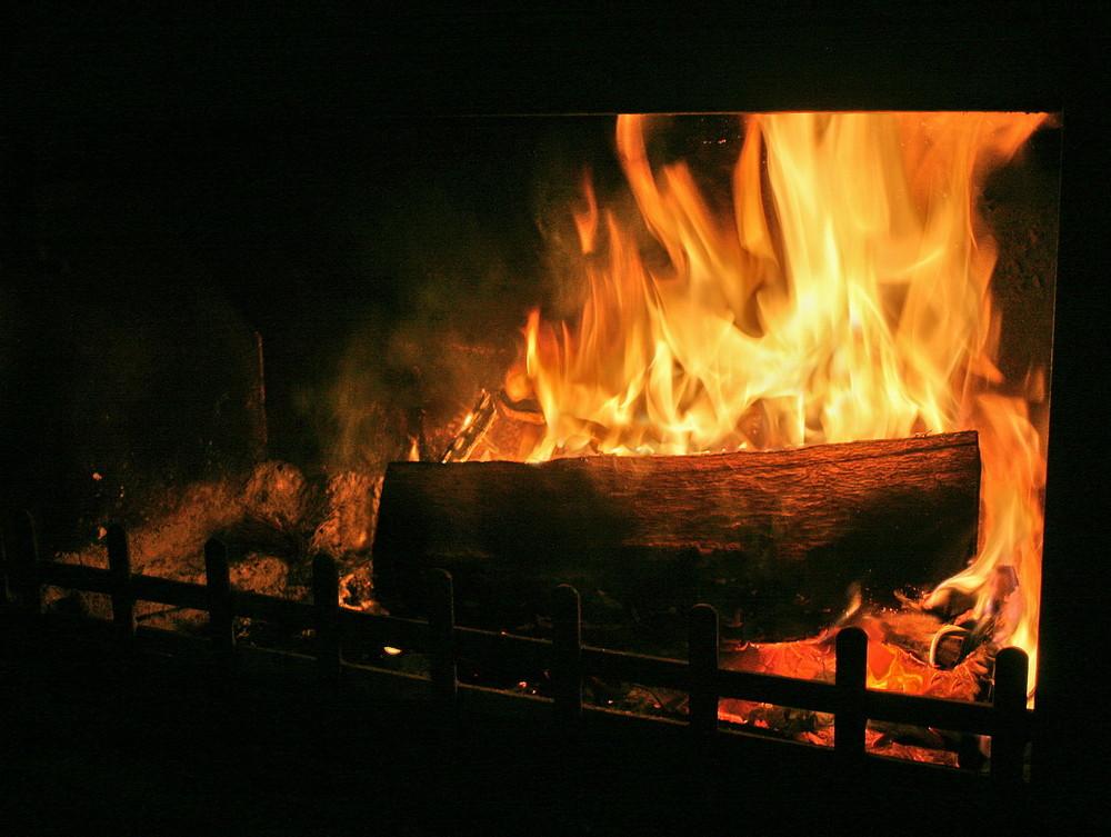 La première flambée