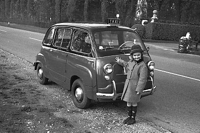 la prima auto del mio papà