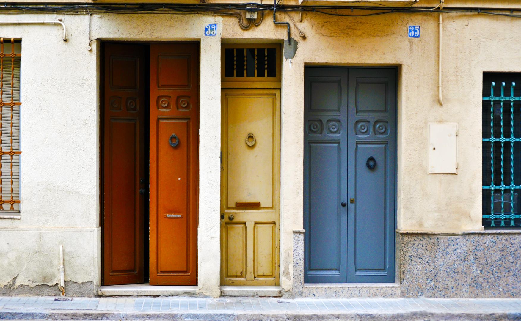 La puerta del medio