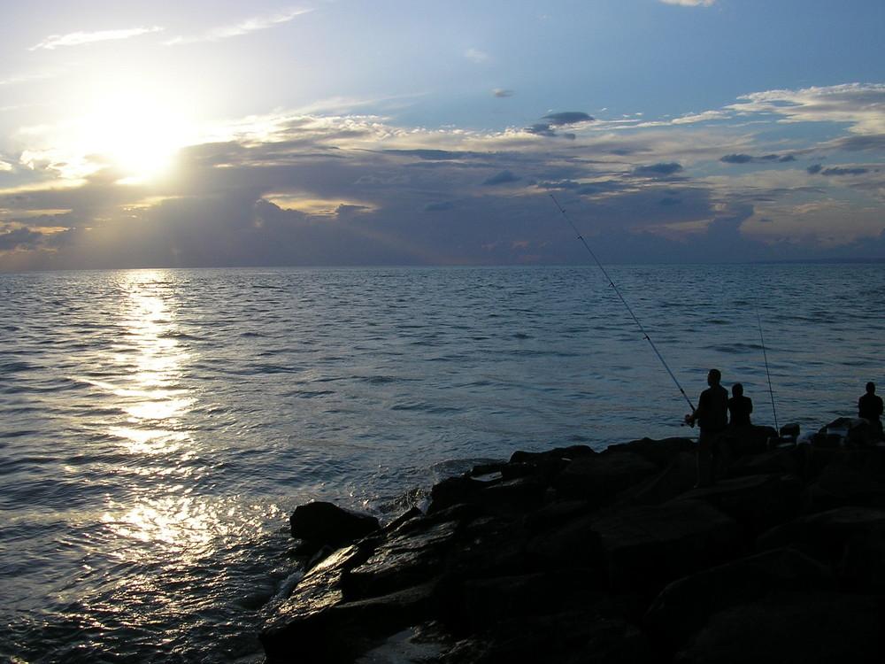 La quiete di un tramonto sul mare (estate 2008)