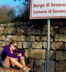 La ragazza triste di Sovana..