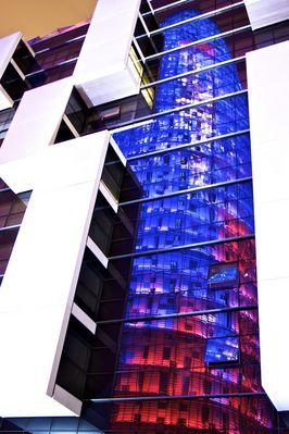 La reflection de la Torre Agbar