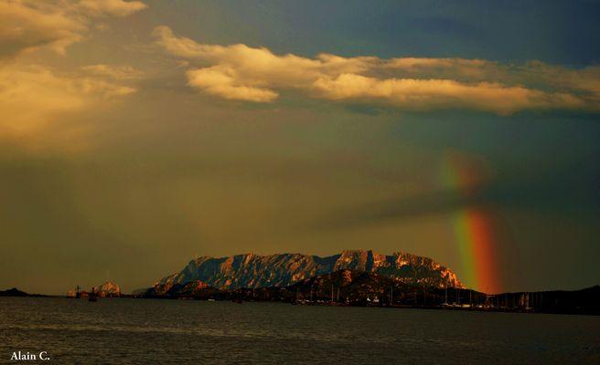 La Regina ed il suo arcobaleno