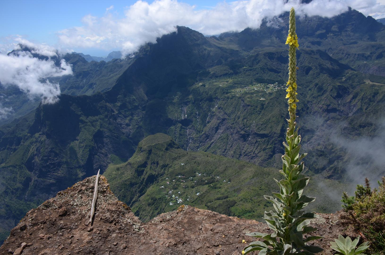 La Réunion : Blick vom Maido in den Cirque Mafate