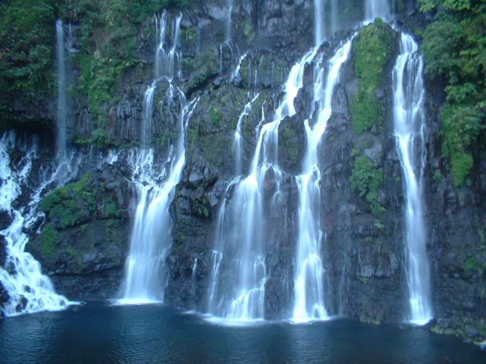La Réunion - Cascade de Grand Galet (La Résurgence)