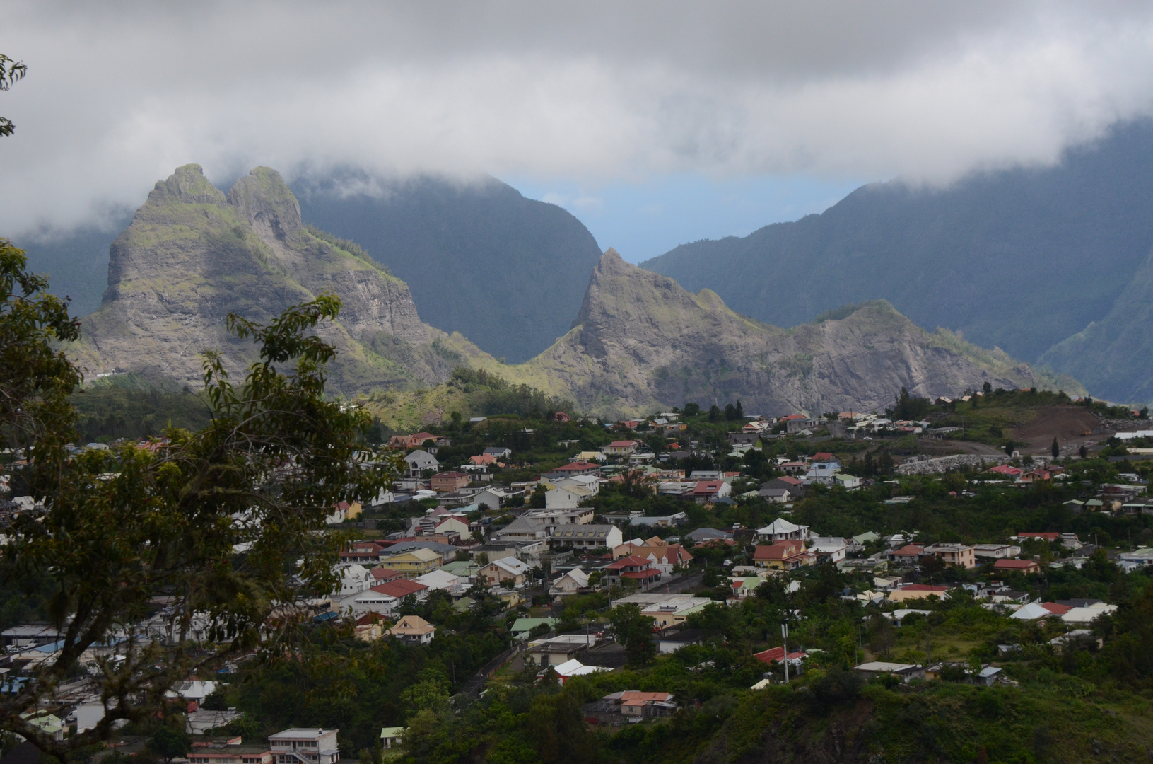 La Réunion - Cilaos im gleichnamigen Talkessel