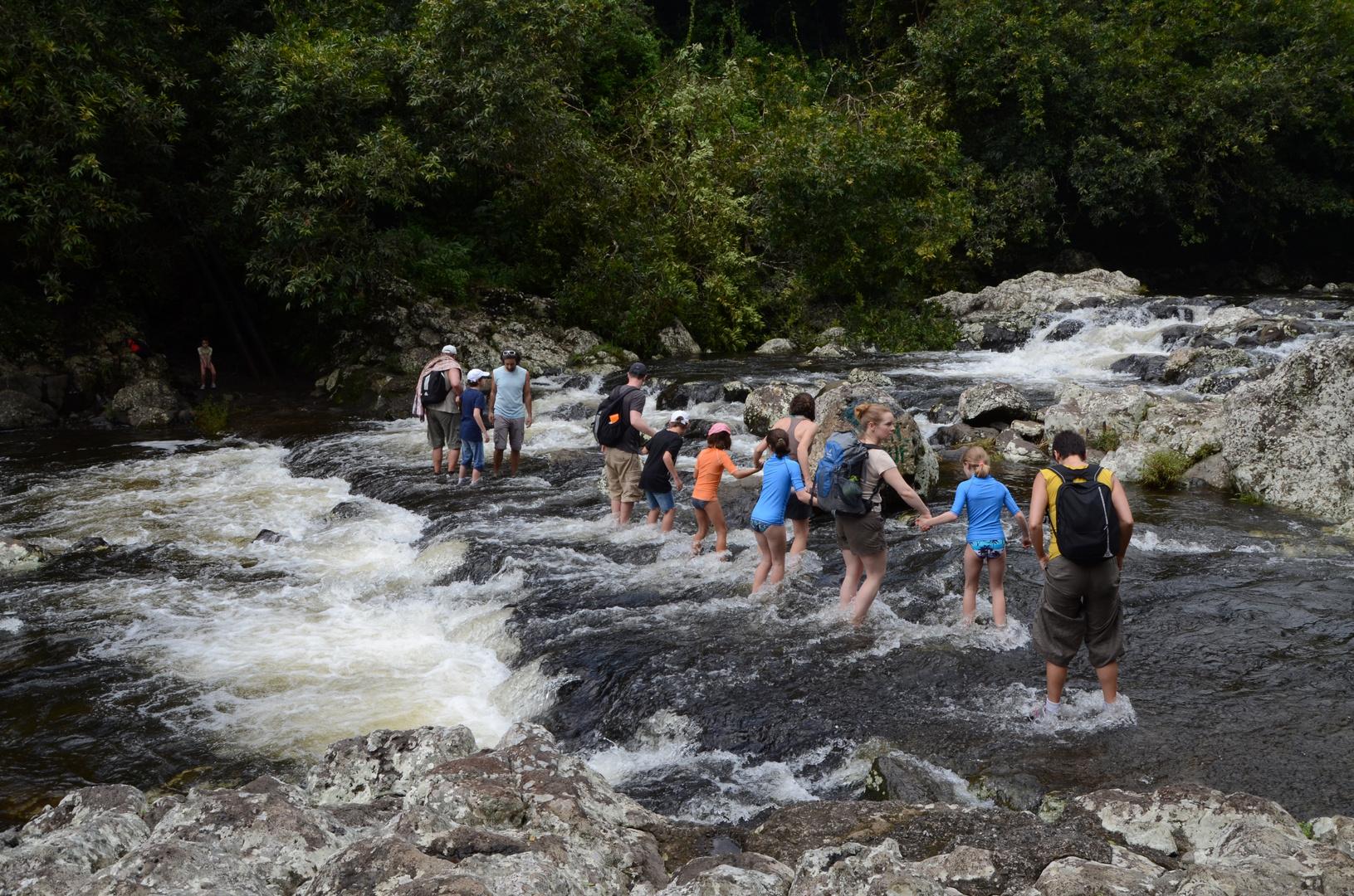 La Reunion : Der Weg zum Bassin Boeuf