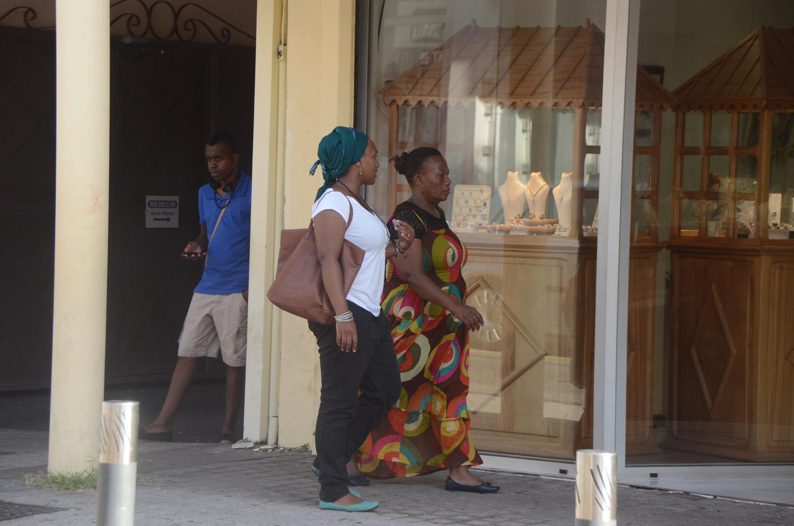 La Réunion : In den Straßen von St. Pierre