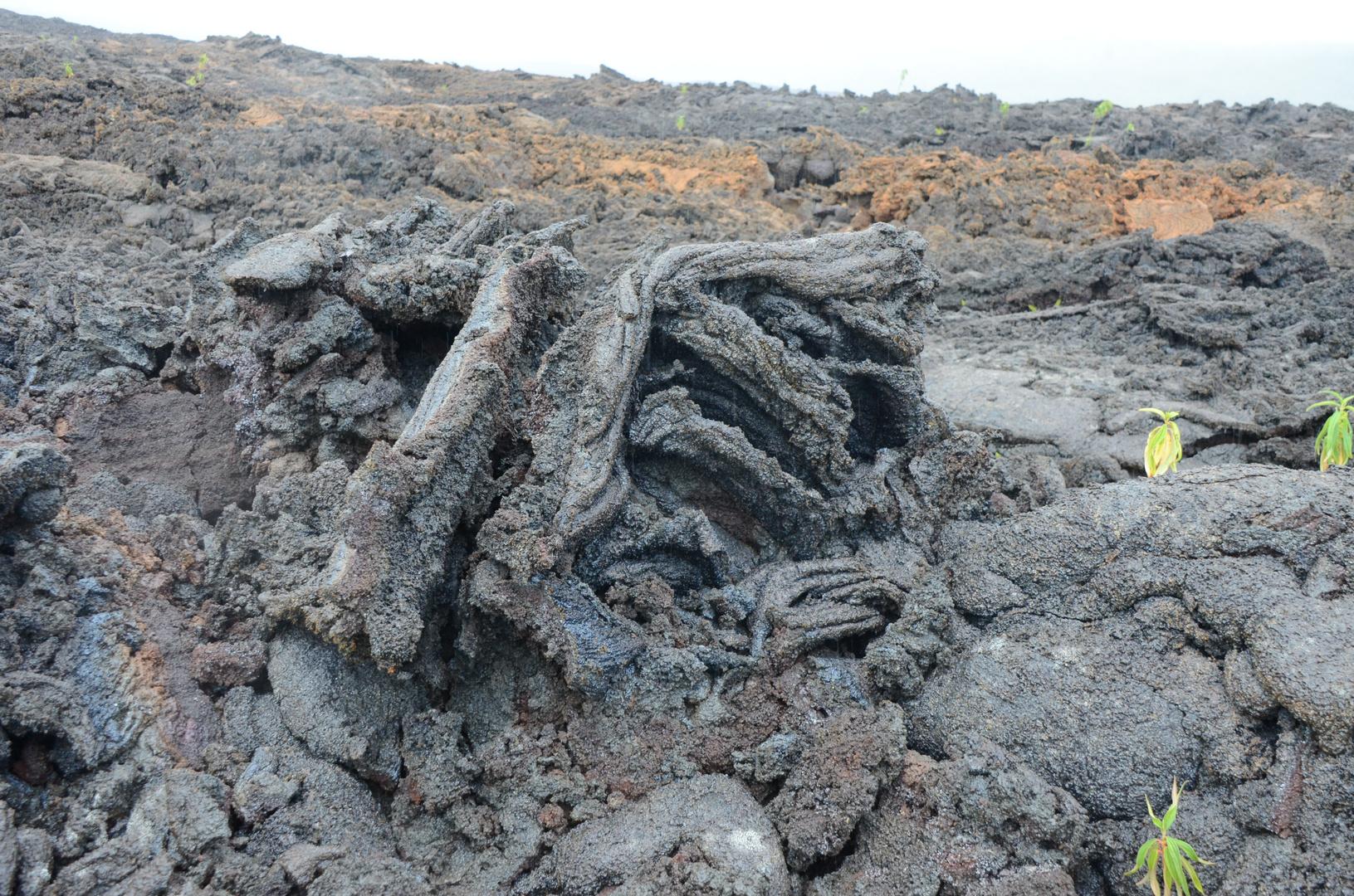 La Réunion : Lavagebilde (Ausbruch 2007)