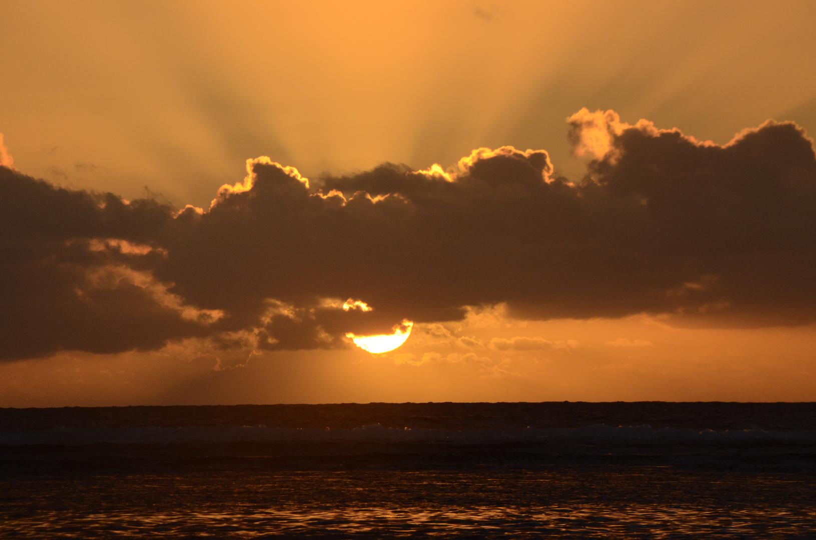 La Réunion : Sonnenuntergang in St. Gilles