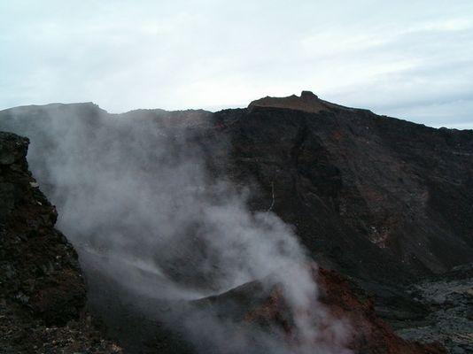 "La Réunion - Vulkankrater "" Piton de la Fournaise II"""
