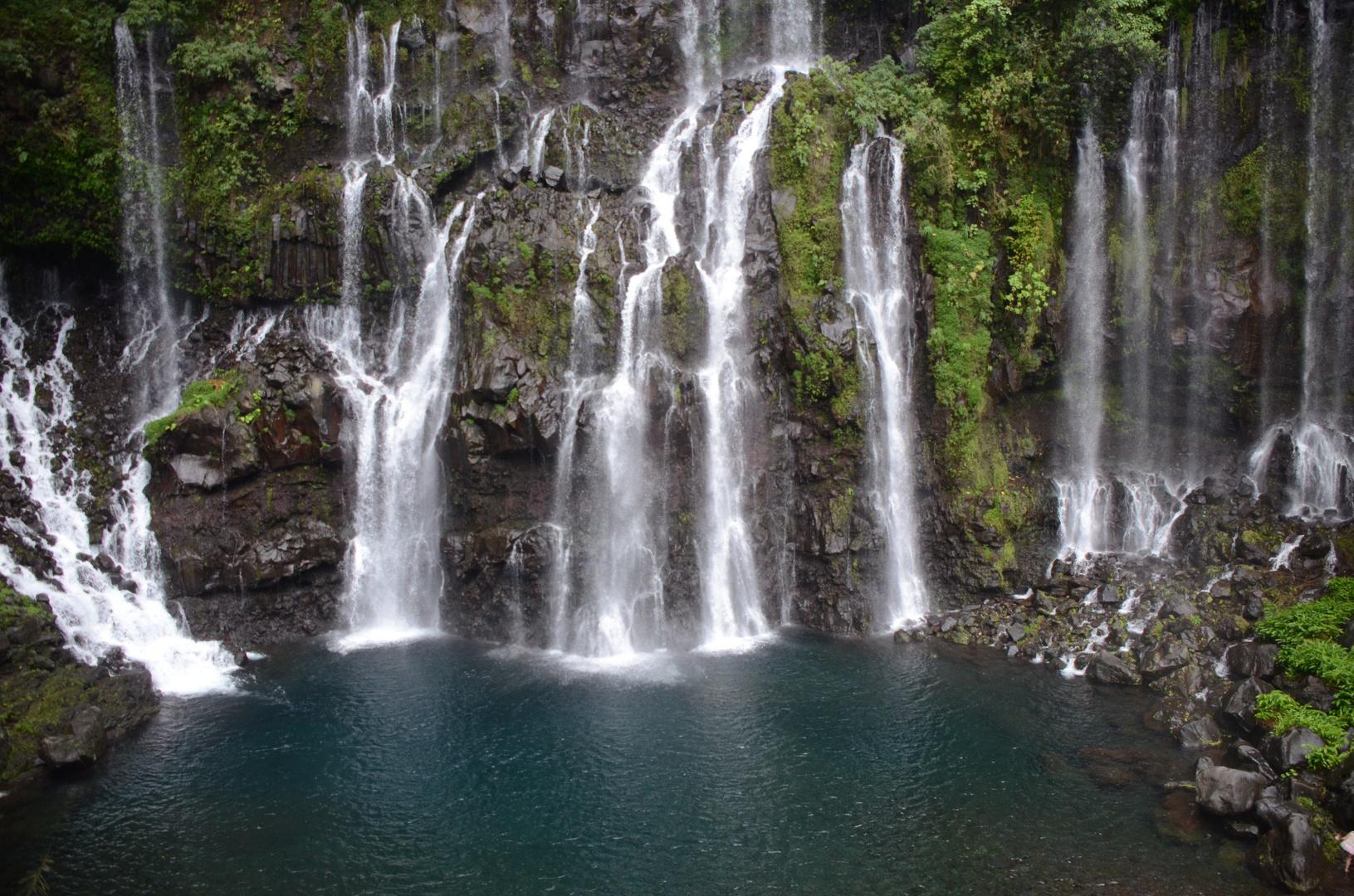 La Réunion : Wasserfall Cascade de Grand Galet