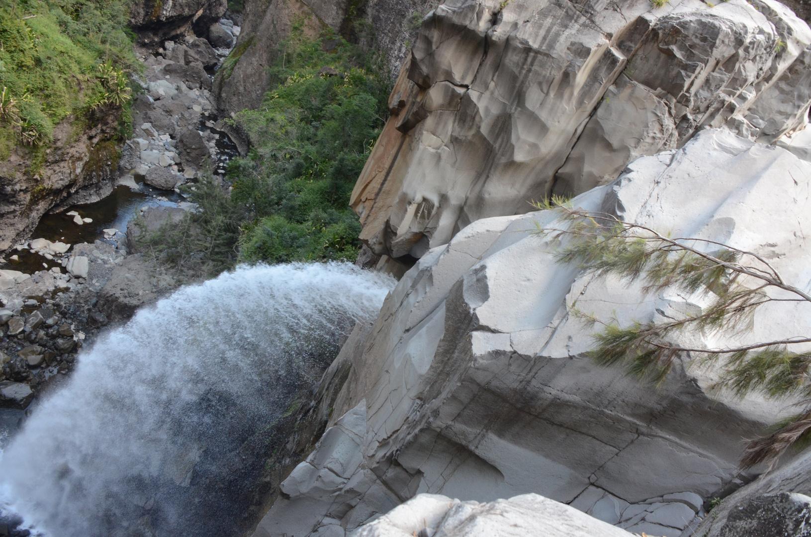 La Réunion - Wasserfall des Bras Rouge bei Cilaos