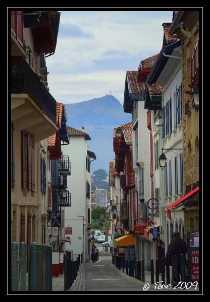 La Rhune depuis St Jean de Luz