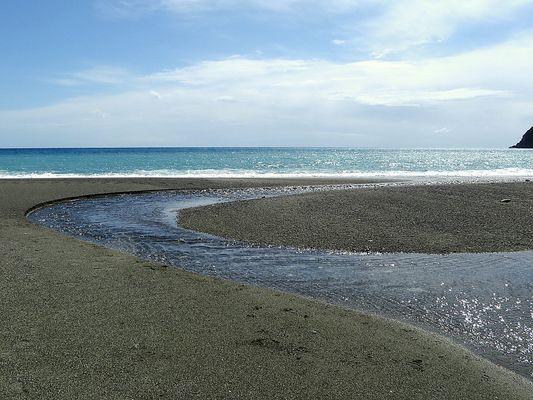 La rivière et la mer