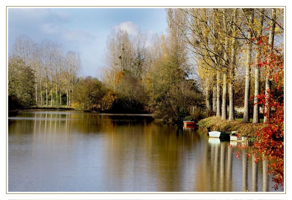 "La Rivière ""la Sarthe"""