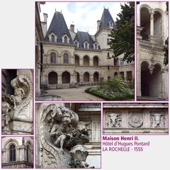 La Rochelle · Maison Henri II. (1555)