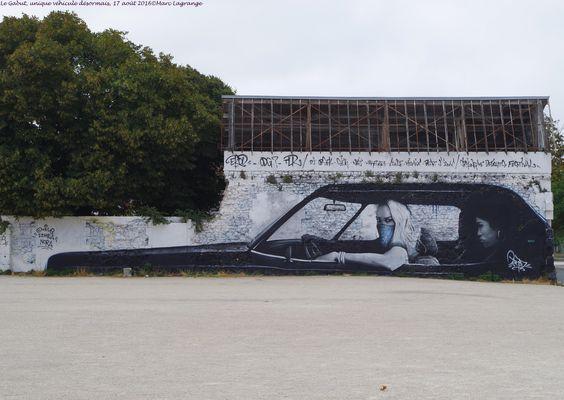 La Rochelle, parking du Gabut