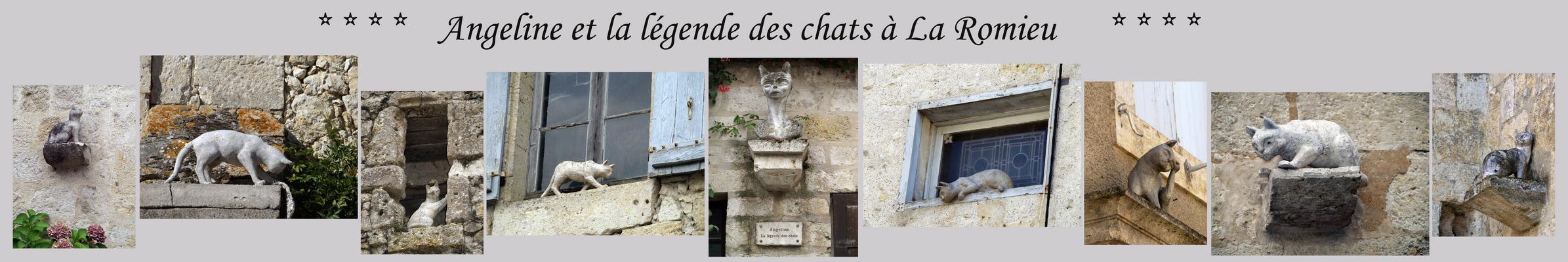 La Romieu - Angéline et la légende des chats – Angeline und die Katzenlegende