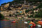 La Roque Gageac sur la Dordogne