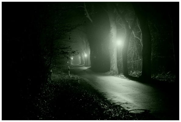 la rue en nuit