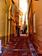 La ruelle jaune