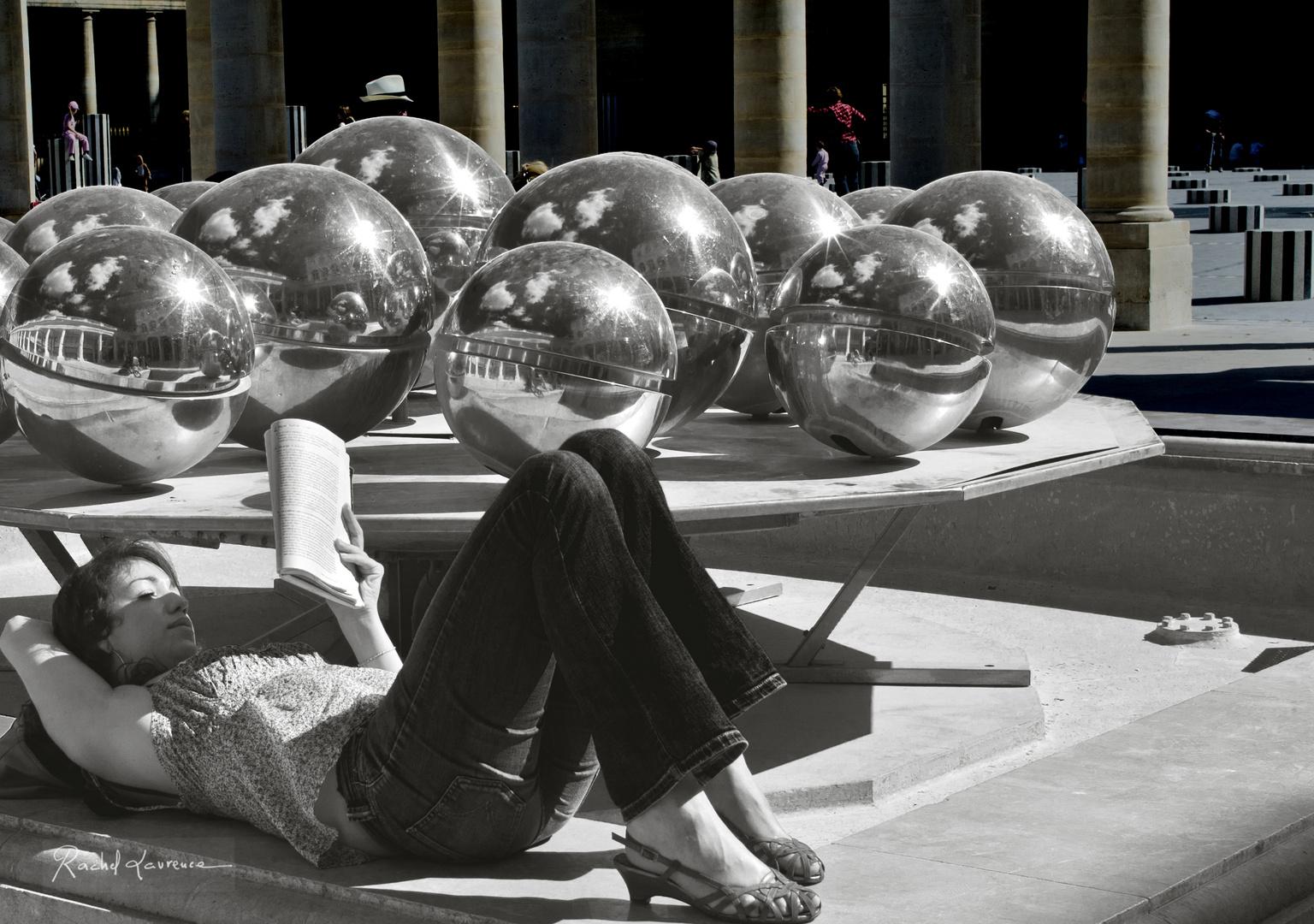 La saison de la lecture au Palais Royal