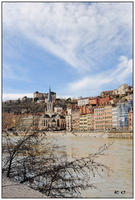La Saône et Fourvière