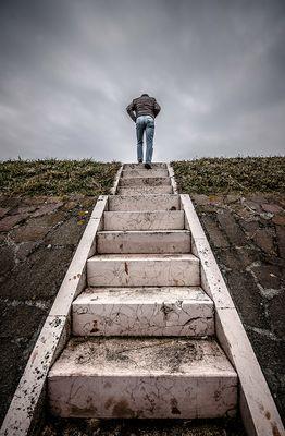 ...la scala....