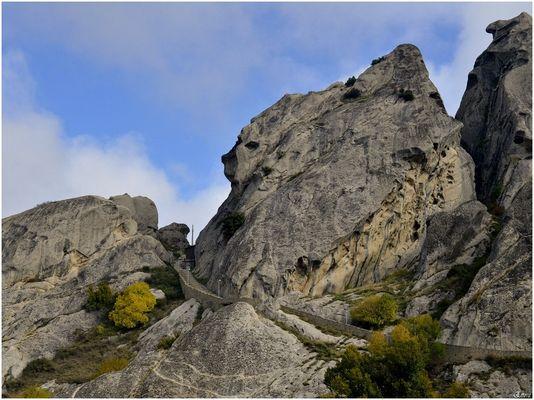 La scalata al castello di Pietrapertosa