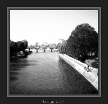 La Seine - Paris je t'aime