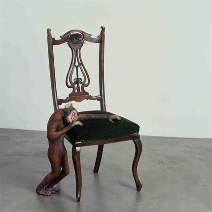 La silla del extraño.