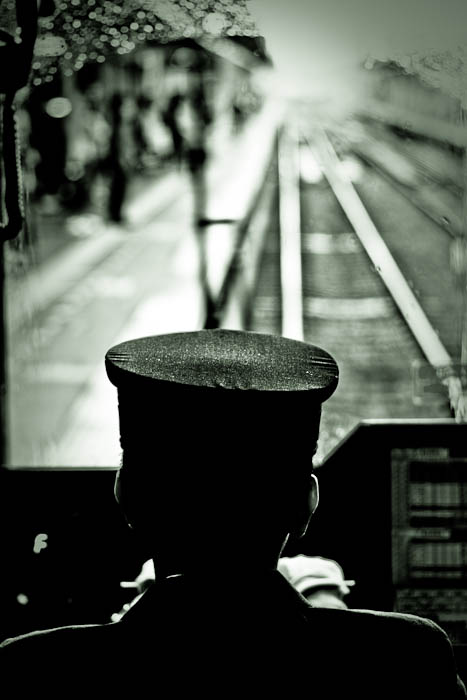 La solitude du conducteur de train