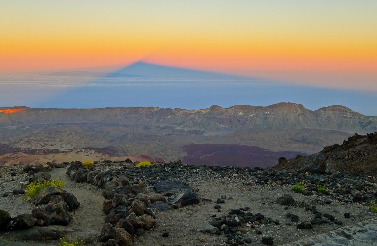 La sombra de Teide
