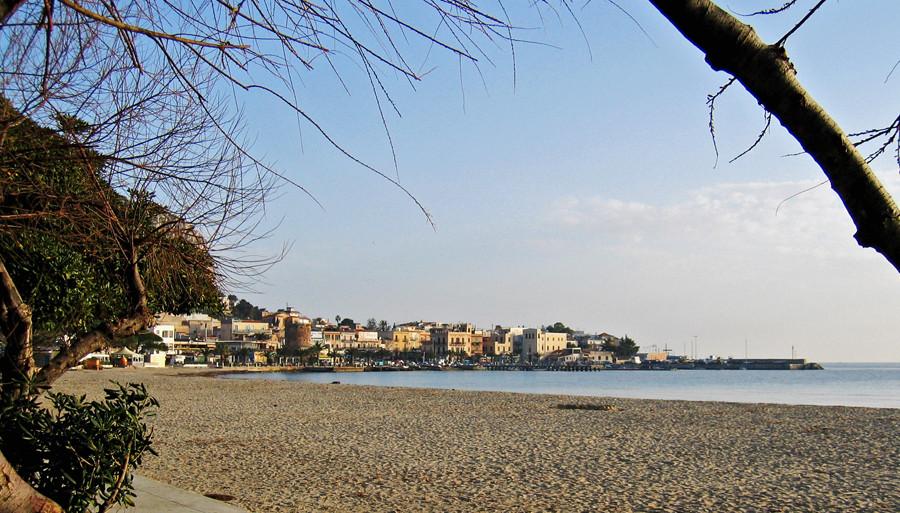 La spiaggia di Mondello