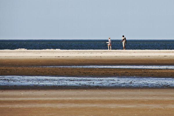 La spiaggia e il mare: la perfezione