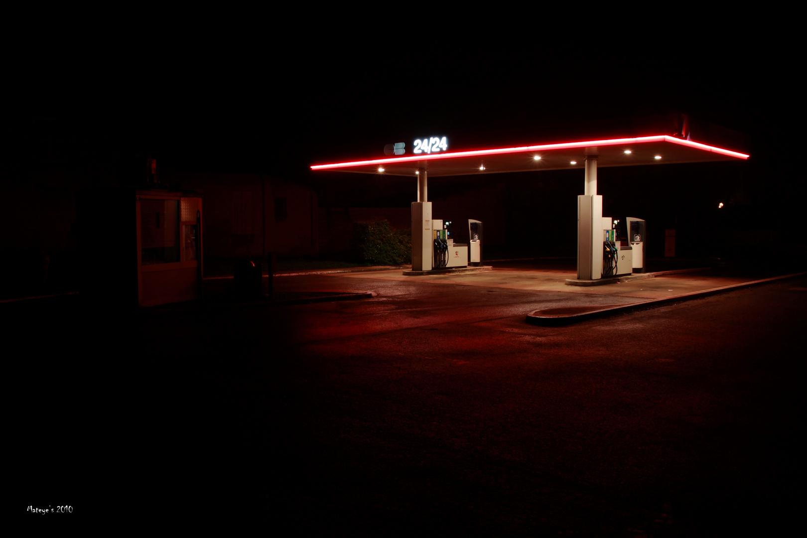 La station de nuit