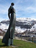 La statue de Livio Benedetti