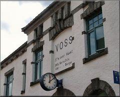 La stazione a Voss.