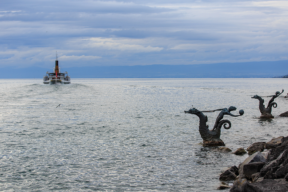 La Suisse und die Meerjungfrauen