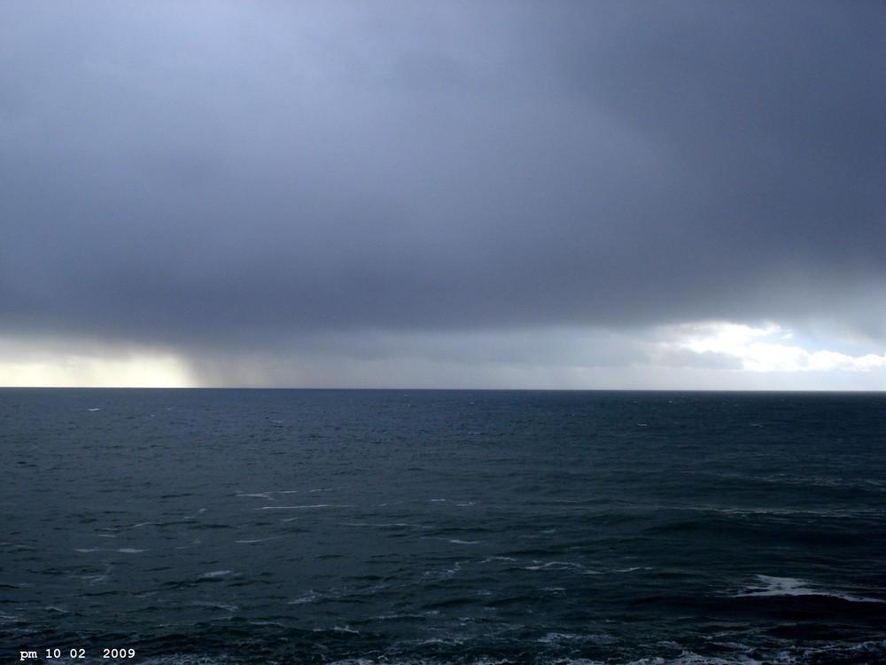 la tempête du 9 02 2009 s éloigne définitivement pointe du raz