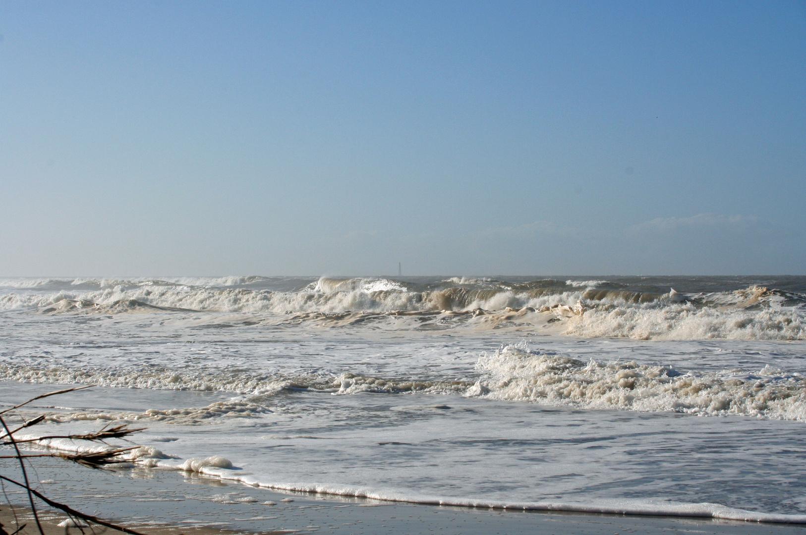 la tempête !!, le phare de cordouan est toujour debout
